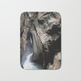 The 200-foot Rock Crevasse of Box Canyon Falls Bath Mat