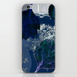 A blue symphony for Anna iPhone Skin