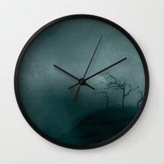 Three ~ Black and White Wall Clock