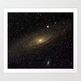 Andromeda Galaxy Art Print