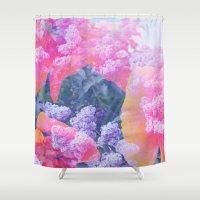 aloha Shower Curtains featuring Aloha by Tyler Spangler