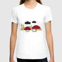 mushroom T-shirts featuring Mushroom by pludadesign