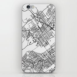 Wilkes-Barre Pennsylvania Map iPhone Skin