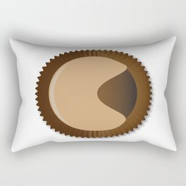 Chocolate Box Moon Shape Rectangular Pillow