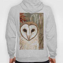 The Barn Owl Journal Hoody