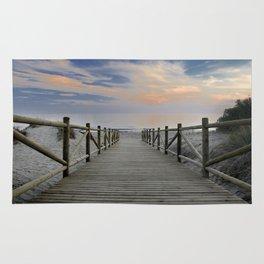"The path..., the beach II .... ""Artola"". Rug"