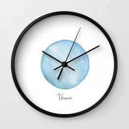 Uranus planet Wall Clock