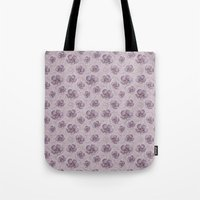 magnolia Tote Bags featuring Magnolia by Vickn