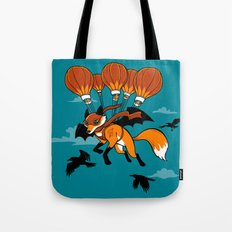 Pterovulpine Tote Bag