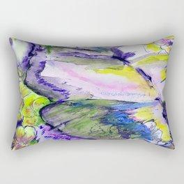 The butterfly Rectangular Pillow