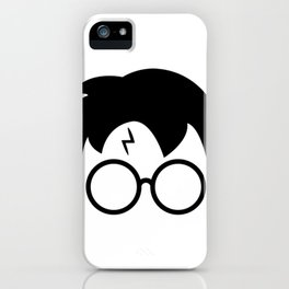 Potter Lighting Bolt iPhone Case