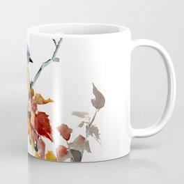 Bluebird on Fall Tree Coffee Mug