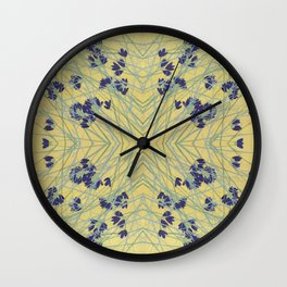 Smoke Tree Blooming Wall Clock