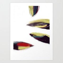 Morceaux/Pieces 8 Art Print