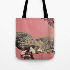 The future a time to reminisce. (mixed media) part 2 Tote Bag