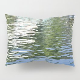 Colorful Reflections Abstract Pillow Sham