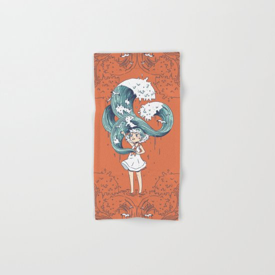 Daughter of the Sea Hand & Bath Towel