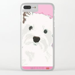 West Highland Terrier Clear iPhone Case