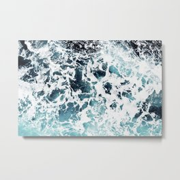 Foam Metal Print