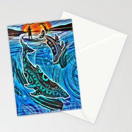 Whales Tale Stationery Cards