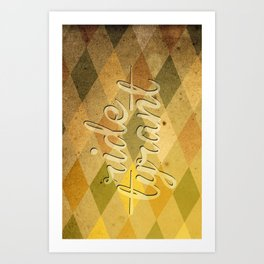 "TYRANT ""Vintage"" Art Print"