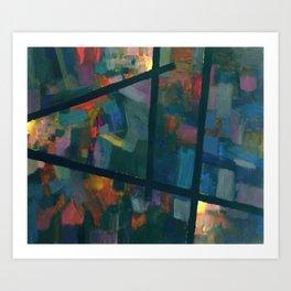 Spectrum 3 Art Print