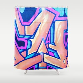 Candy Street Art Shower Curtain