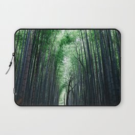 Bamboo Forest, Kyoto, Japan 2 Laptop Sleeve