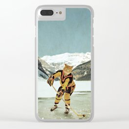 """The Vancouver """"Cat""""nucks Clear iPhone Case"""