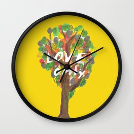 love only Wall Clock