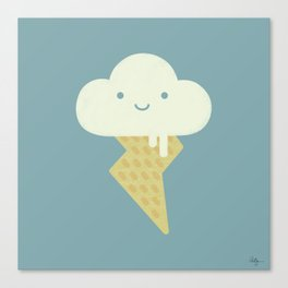 Stormy and Sweet Canvas Print