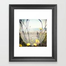 I'd Swim The Oceans For You Framed Art Print