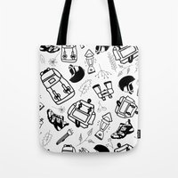 outdoor Tote Bags featuring Outdoor by JocoLab