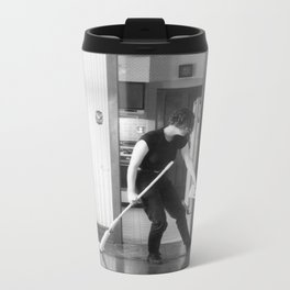 Cleaning Up After Jackson Pollack 2 Metal Travel Mug