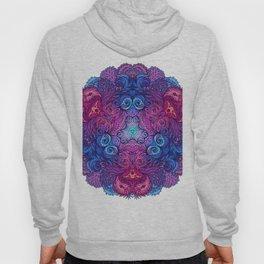 Purple & Blue Indian Mandala Hoody