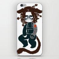 bucky iPhone & iPod Skins featuring bucky by cynamon
