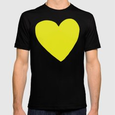 Sunshine Heart X-LARGE Black Mens Fitted Tee