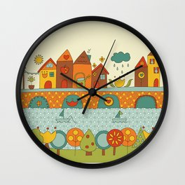 This is my Home Wall Clock
