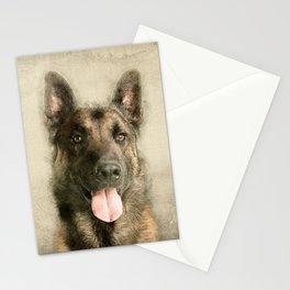 Belgian Malinois - Mechelaar  - Maligator Stationery Cards