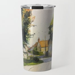 France: Normandy Countryside, Country road back to home Travel Mug