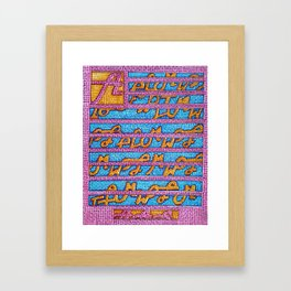 Audia- Goddess of music Framed Art Print