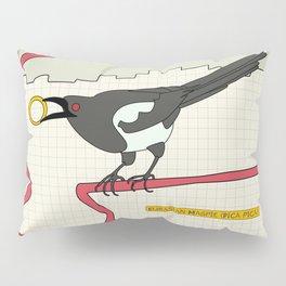 Eurasian Magpie Pillow Sham