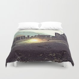 Harry Potter - The Final Duel Duvet Cover
