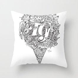 TG - Cone Throw Pillow