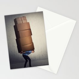 Overloaded Stationery Cards
