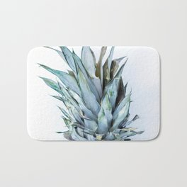 Ananas - Pineapple On A White Background #decor #society6 Bath Mat