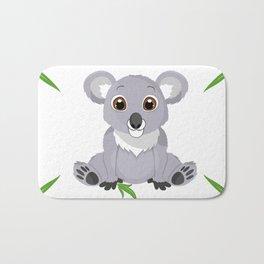 Cute Little Koala Bear Bath Mat