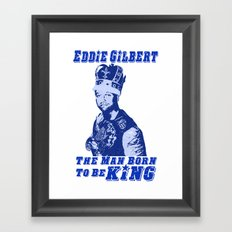 Eddie Gilbert - Legendary Wrestler Framed Art Print