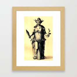 Hecate The Young Framed Art Print