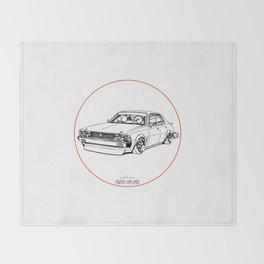 Crazy Car Art 0204 Throw Blanket